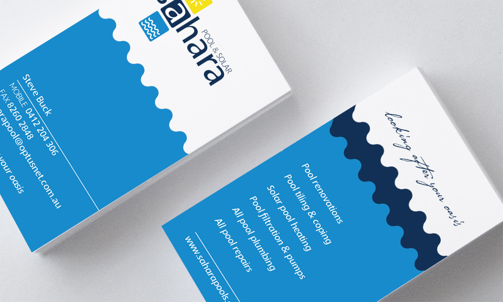 Pool Service Business Cards Gallery - Business Card Template